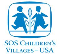SOS Child Village USA LOGO