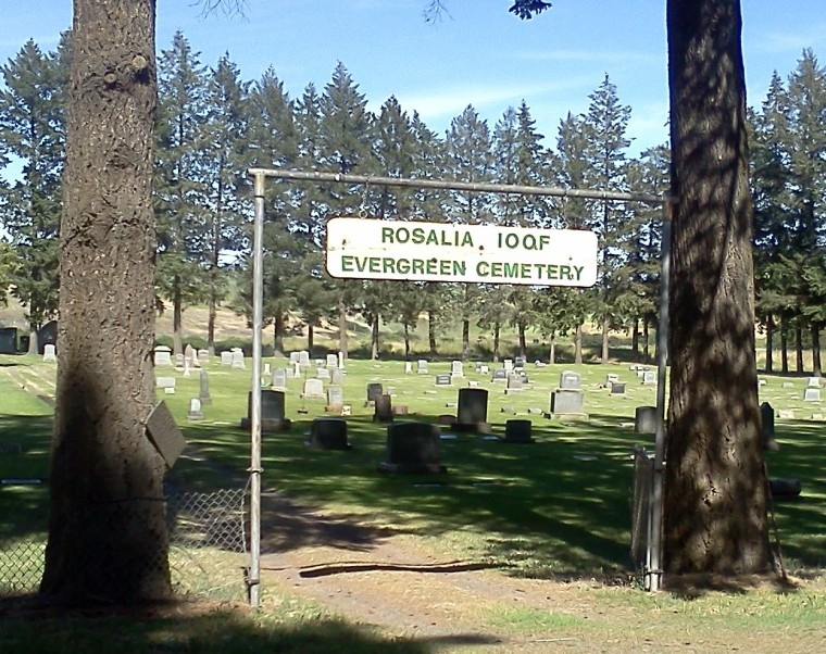 Evergreen Cemetery_ROSALIA_Entrance Sign