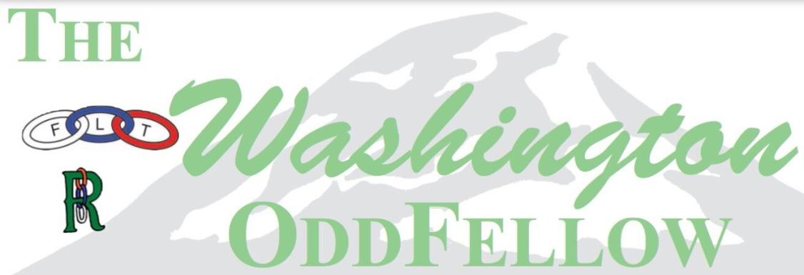 The Washington Odd Fellow Newsletter Header