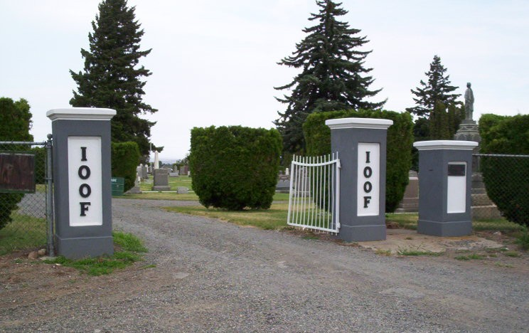 IOOF Cemetery_ELLENSBURG1_Entrance